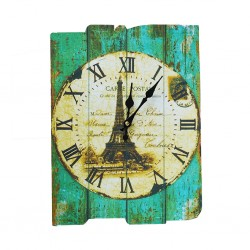 Vintage Eiffel Clock 40x30cm B18-B21