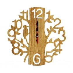 Tree Clock Wooden B29-B30