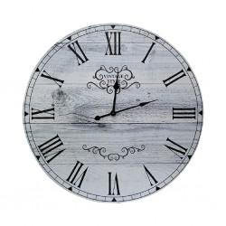 Vintage White Clock 55x55cm B1-B15