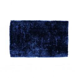 Dark Blue Bath Mat Bubble Glossy I1-I15
