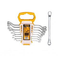 Ingco Hkspa3088 Offset Ring Spanner Set