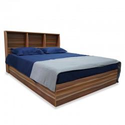 Flox Bed With Storage Headboard 150x190 cm