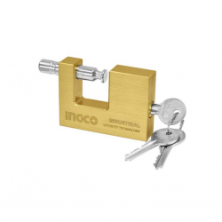 Ingco Dbbpl0702 Heavy Duty Brass Block Padlock