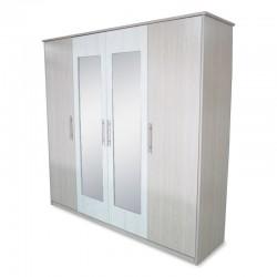 Max Wardrobe 4 Doors Melamine MDF
