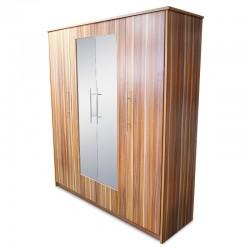Flox Wardrobe 4 Doors With 2 Mirrors