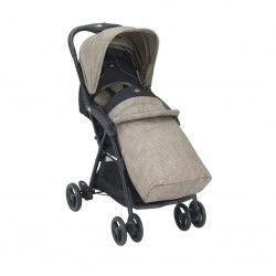 Cam Curvi Stroller - Brown