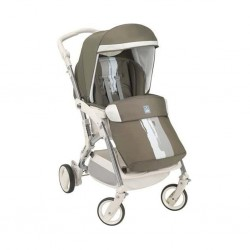 Cam Fluido Light Weight Stroller - Brown