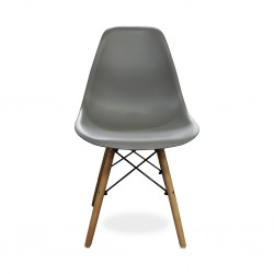 Grace Chair Grey PP Seat