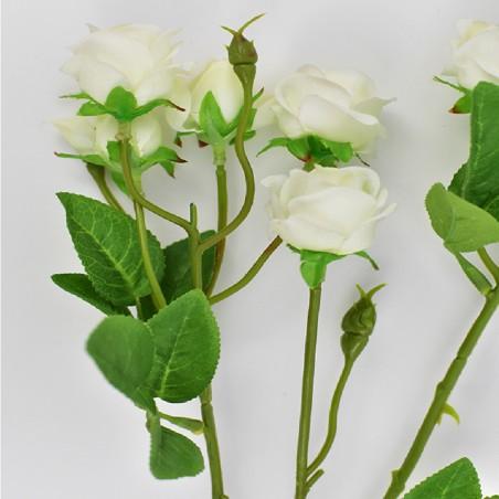 Flower 68 cm white