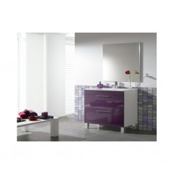 Arkit Mobel Bathroom Cabinet Purple