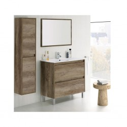 Arkit Mobel Bathroom Cabinet Natural Brown