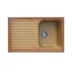 Sintetika (SJTK) Sink Single Bowl With Table Terre De Francia
