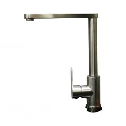 Diplomat Mixer Tap Mate Silver Kitchen Mixer 6019