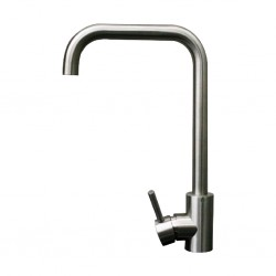 Diplomat Mixer Tap Mate Silver Kitchen Mixer 6003-1