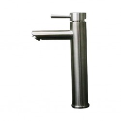 Diplomat Mixer Tap Long Mate Silver Washbasin Mixer 3009