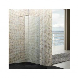 Shower Cabin Fixed Glass Panel Without Base S726