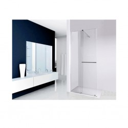 Frameless Shower Cabin With Fixed Transparent Glass  RDY07