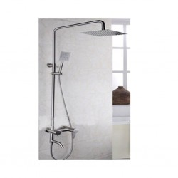 Diplomat Shower Faucet Square Head Shower Set LL8003