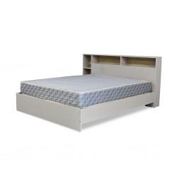 Glasgow Bed 150x190 cm PB Off White