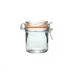 "Zibo Hermetic HM-2009 250ml Glass Storage Jar ""O"""
