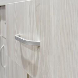 Flavi Sideboard 4 Doors MDF Grey