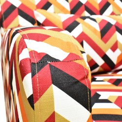 Gabrielle Accent chair in Fabric