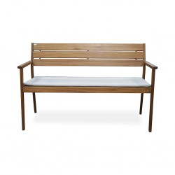 Cruz Park Bench Killarney Solidwood