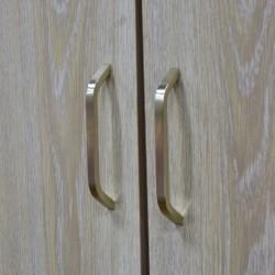 Scoop Wardrobe 2 doors Melamine wash oak
