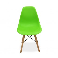 Urban Grace Chair Green PP Seat