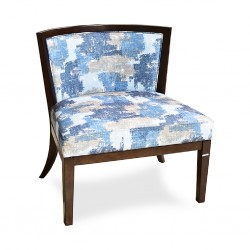 Palm Spring Accent Chair in Fabric