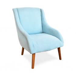 Castellina Accent Chair Turquoise Fabric