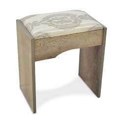 Alpine Pouf MDF Grey
