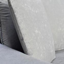 Electron Sofa Corner Grey Fabric RHF Chaise