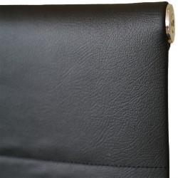 Aneta Visitors Chair Chrome Semi Leather Model ALU 04H