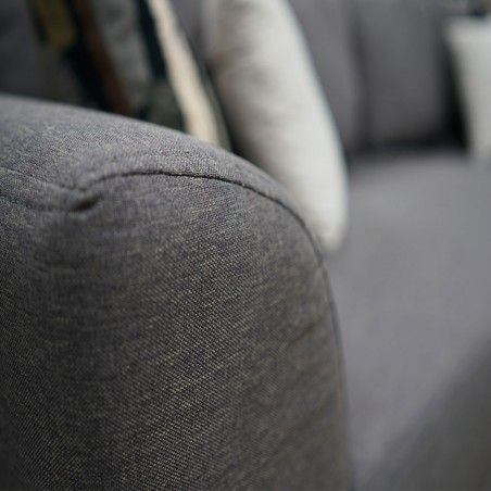 Hamilton Tabitha Corner Fabric Grey