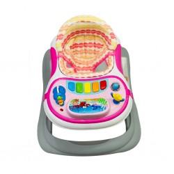 Hauck Baby-Walker Pink Giramondo