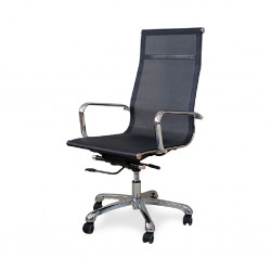 Siren High Back Office Chair Executive Mesh Fabric Model ALU 01