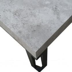 Elmond Coffee Table MDF & Metal Tube