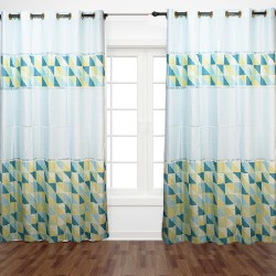 Mint Curtain 200x257cm Coton 121 Huo-39