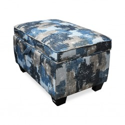 Palm Spring Ottoman in Fabric
