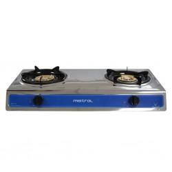 Mistral MGC8110 2 Burners S/Steel Gas Cooker