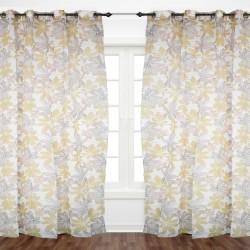 Flowery Orange Curtain 1.40x2.30 - E1-E5 A 25 (unit)