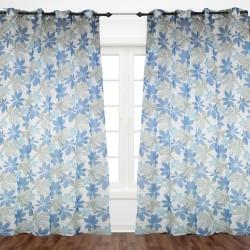 Flowery Blue Curtain 1.40x2.30 - E1-E5 B 27