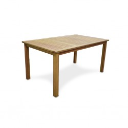 Plaza Table Eucalyptus Solidwood