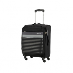 American Tourister Luggage Lisbon Cabin Black ATL028