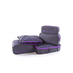 American Tourister Luggage 5 in 1 Pouch Violet ATA042