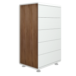 Danube high chest with 4 drawers