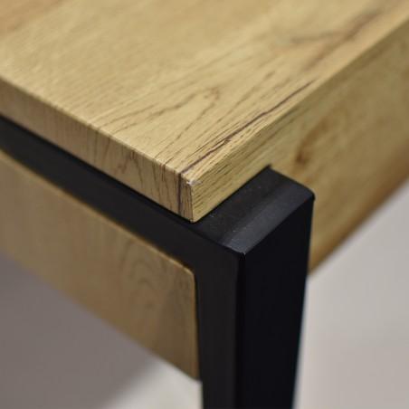 Zenith Coffee Table MDF & Metal Tube