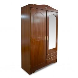 Jacinthe Wardrobe 2 doors Sapele MDF