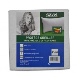 Savel Terry Pillow Protector Waterproof 40x60 cm